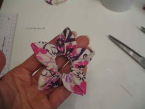 Blütenkranz der Stoffblume