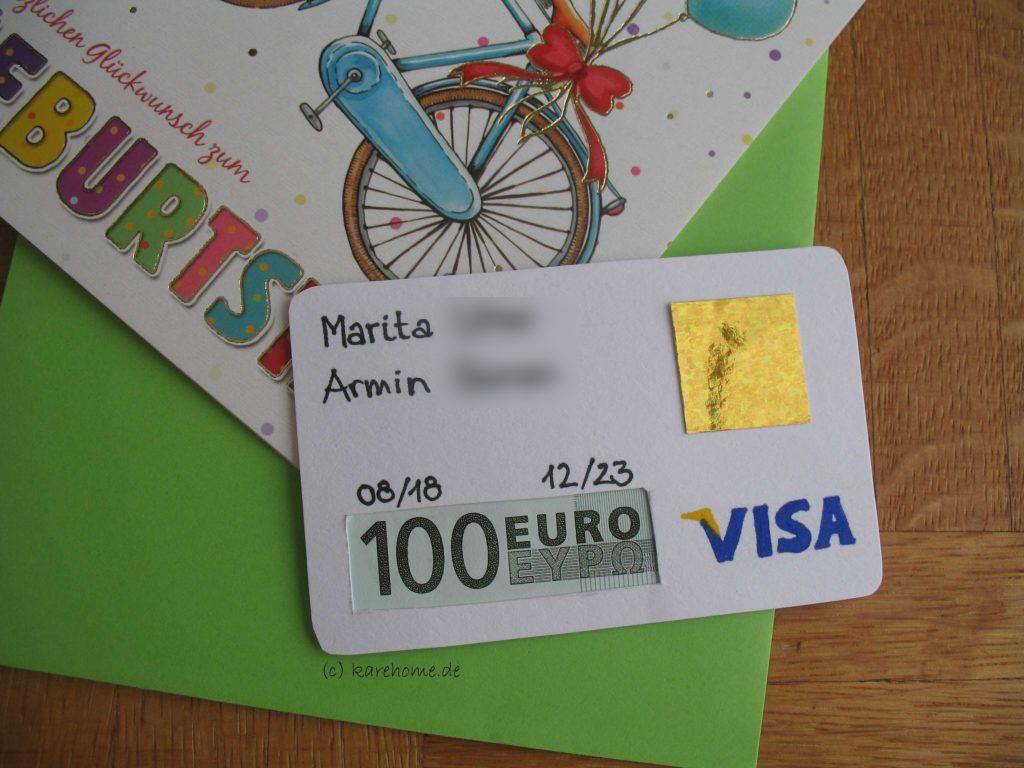 Erwachsener verheiratet aus keine kreditkarte