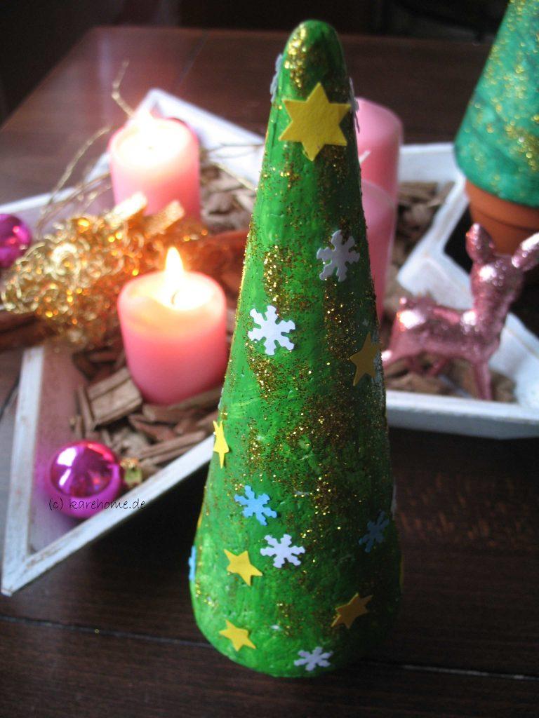 Weihnachtsbaum Aus Styropor Basteln Karehome