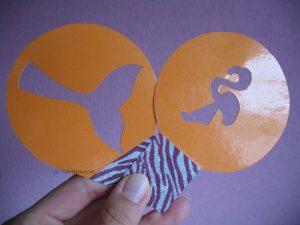Schablonen für Kakao-Deko