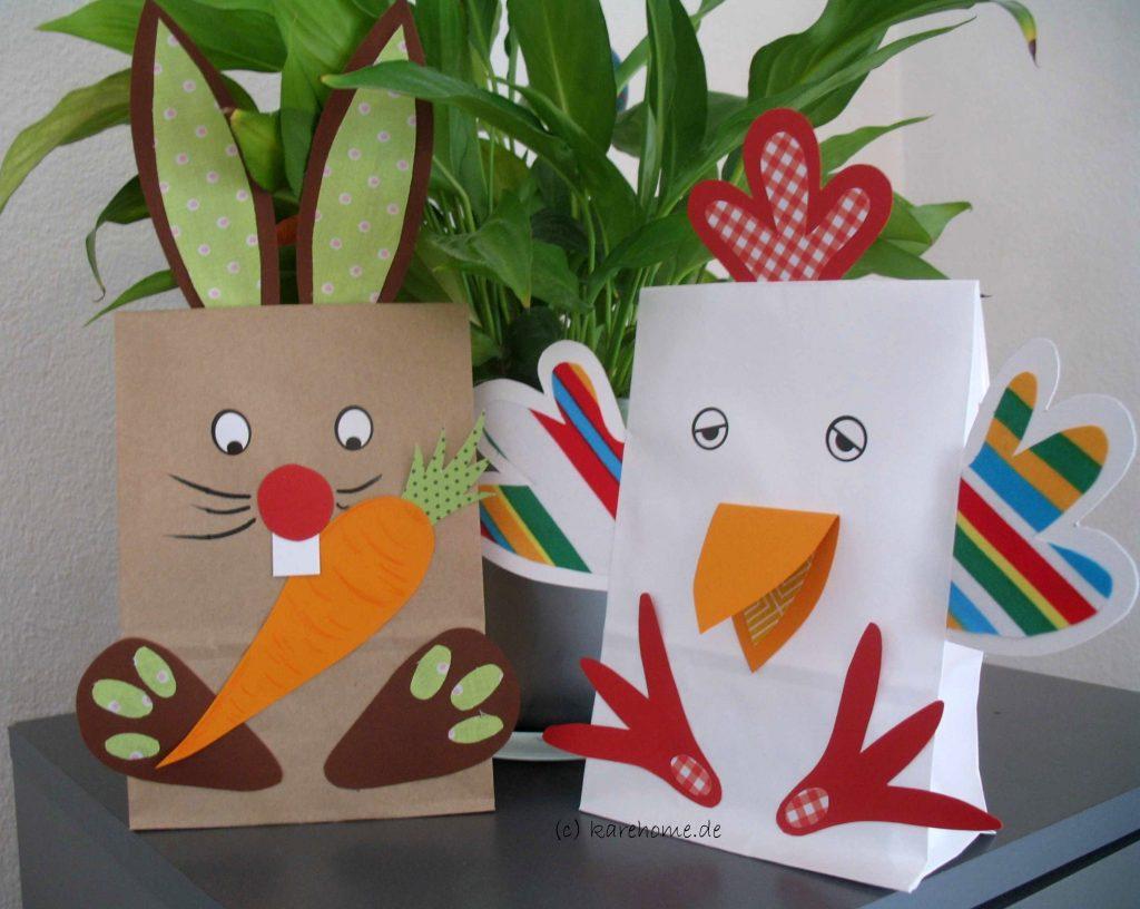 Tiere Aus Papiertüten Basteln Karehome