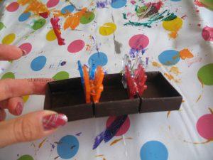 Streichholzschachteln zusammenkleben
