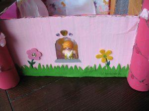 Prinzessinnen-Schloss aus Karton - Seite