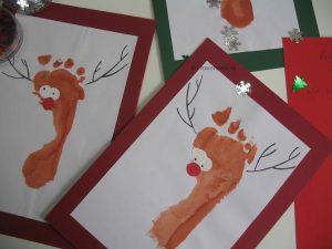 Rentier-Weihnachtskarten
