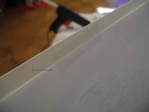 Papier fixieren