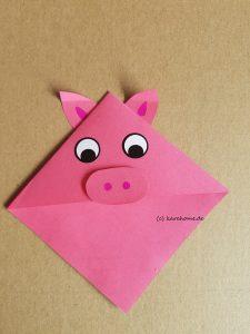 Schwein als Leszeichen