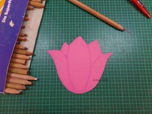 Blütenblätter skizzieren