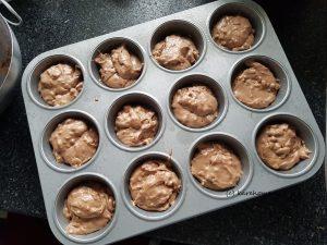 Muffins portionieren