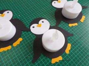 Teelicht-Pinguin