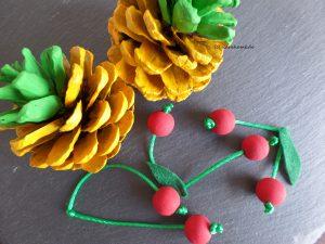 Ananas und Kirschen