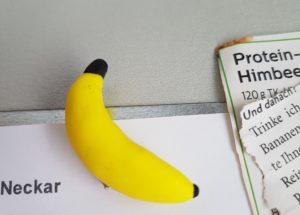 FIMO-Magnet: Banane