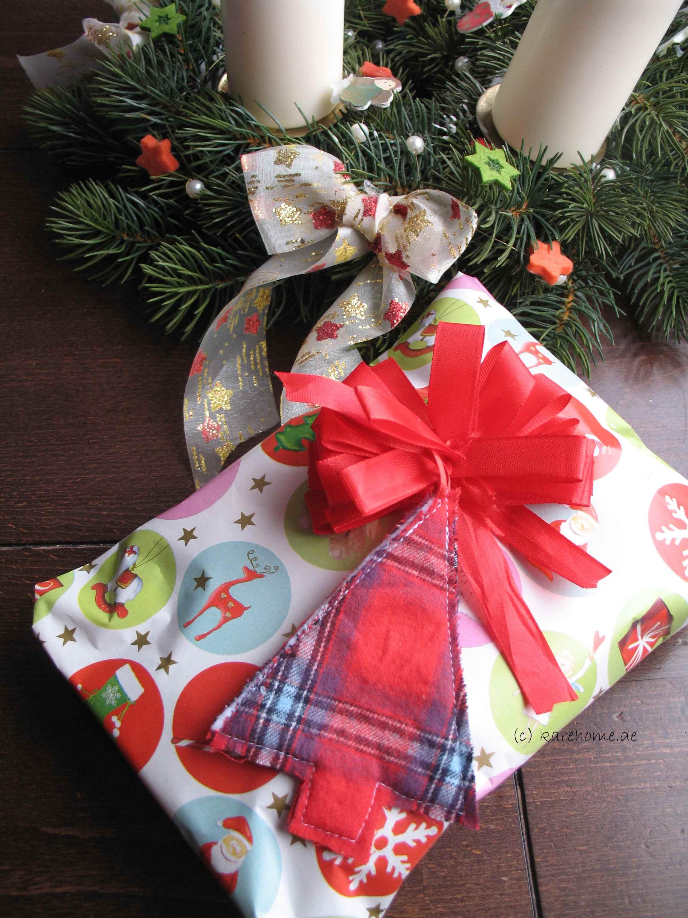 geschenkanh nger f r weihnachten n hen karehome. Black Bedroom Furniture Sets. Home Design Ideas