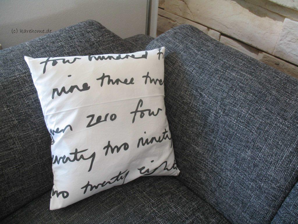 tutorial kissen ohne rei verschluss karehome. Black Bedroom Furniture Sets. Home Design Ideas