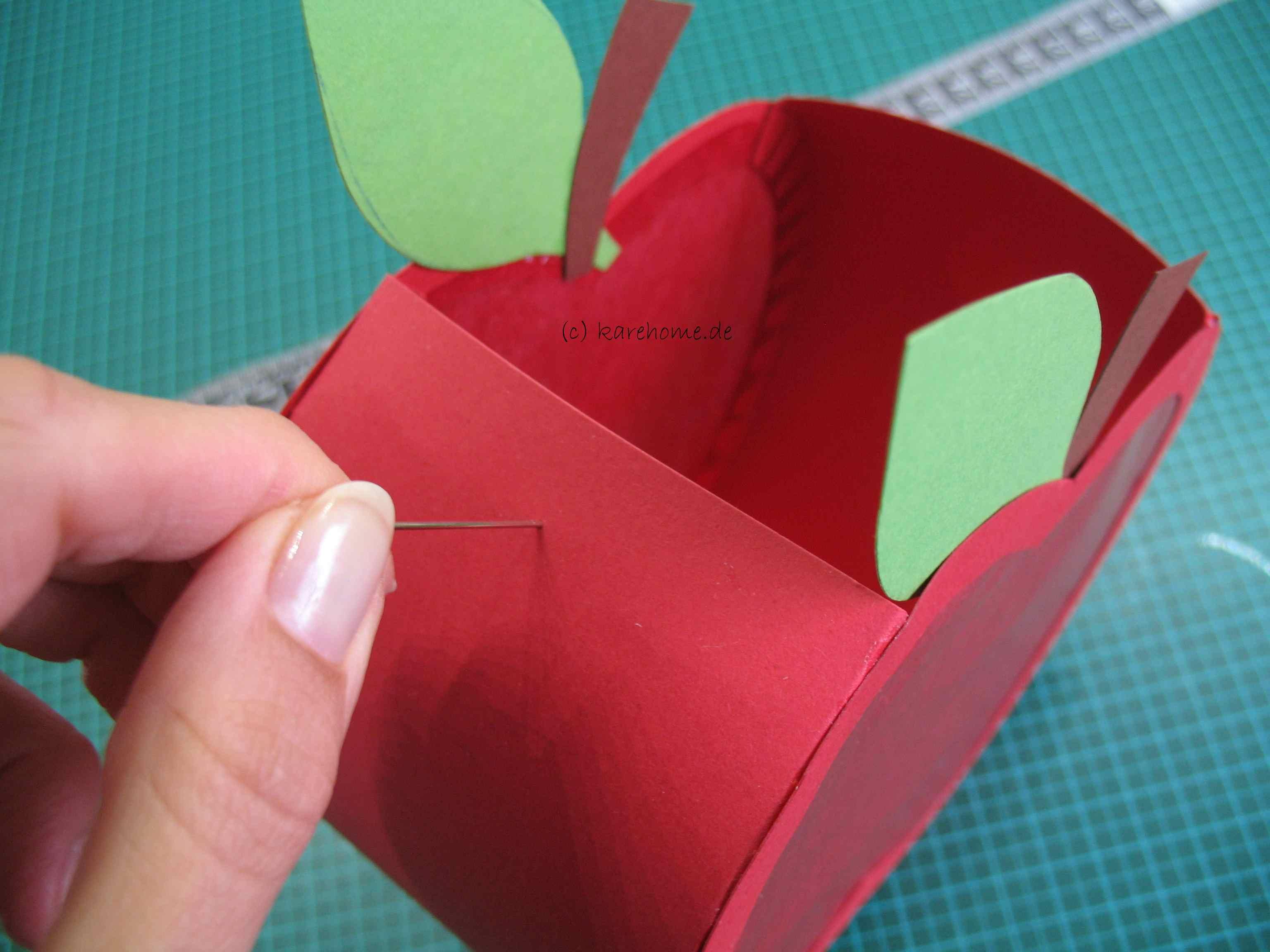 Laterne Basteln Für Kinder Einen Apfel Karehome