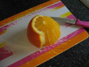 Orangenhaut entfernen