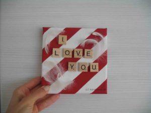 Keilrahmen - I love you