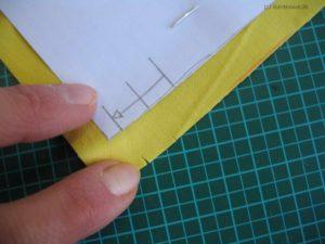 Markierungen vom Schnittteil Innentasche übernehmen