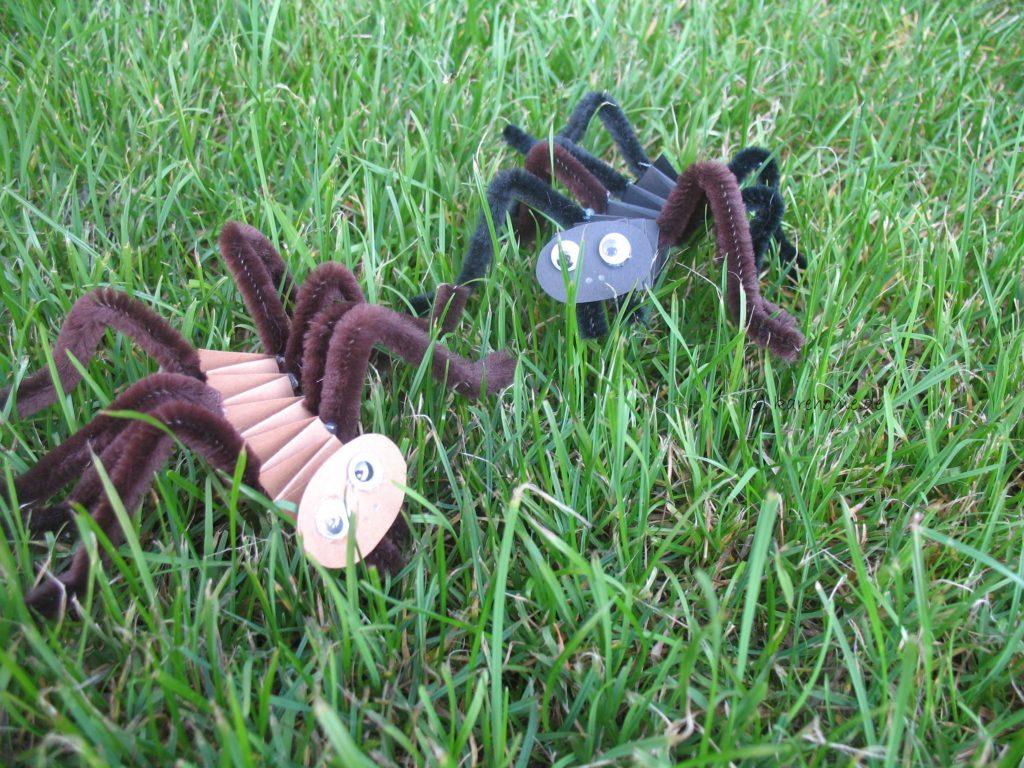 Spinnen Basteln Aus Hexentreppen Für Halloween Karehome
