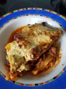 glutenfreie, low carb Zucchini-Lasagne